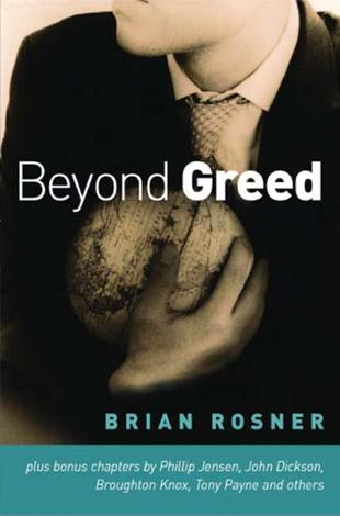 Beyond Greed by Brian Rosner