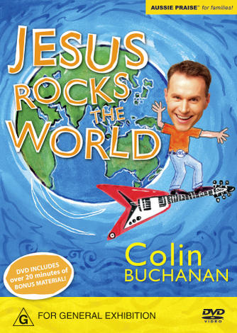 Jesus Rocks The World DVD by Colin Buchanan