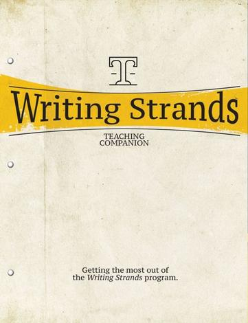 Writing Strands (Teaching Companion) by