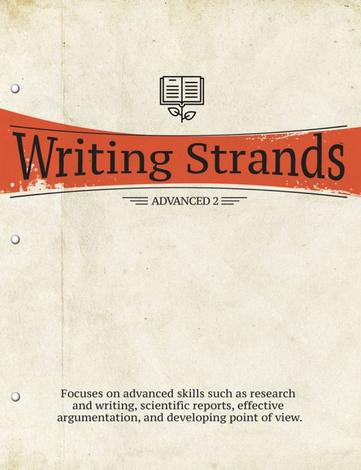 Writing Strands: Advanced 2 by