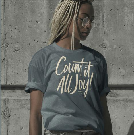 Count It All Joy T-Shirt by