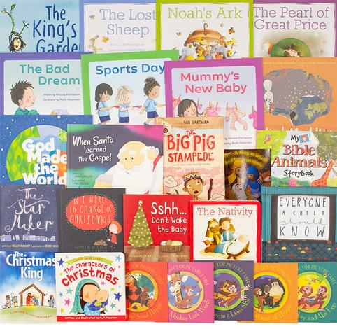 Children's Advent 25 Book Pack by