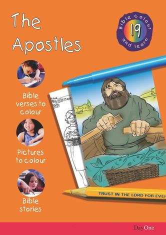 Bible Colour and learn: 19 The apostles by
