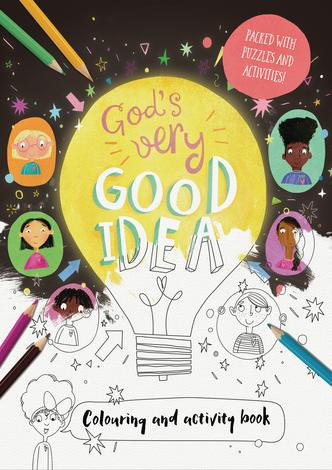 God's Very Good Idea - Coloring and Activity Book by Catalina Echeverri