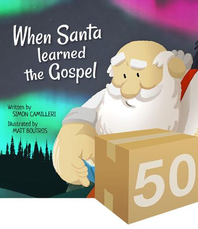 GIVE-AWAY: When Santa Learned the Gospel by Simon Camilleri