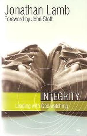 Integrity by Jonathan Lamb