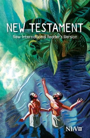 NIrV Childrens New Testament: Baptism Cover by