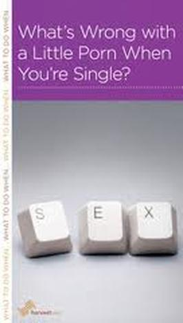 What's Wrong with a Little Porn When You're Single? by R Nicholas Black