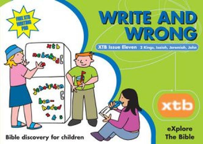 XTB 11 Write and Wrong by Alison Mitchell