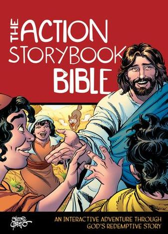 The Action Storybook Bible by Sergio Cariello and Catherine DeVries