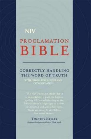 NIV Compact Proclamation Bible Soft–Tone by