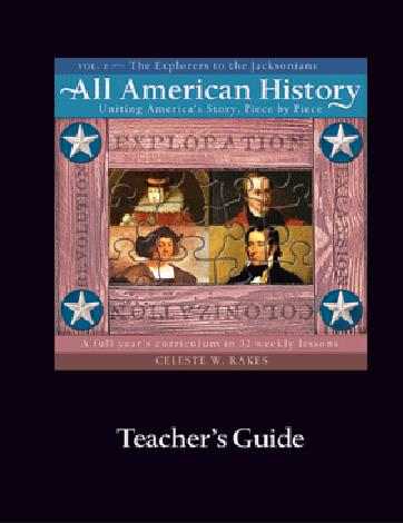 All American History Volume I Teacher's Guide by