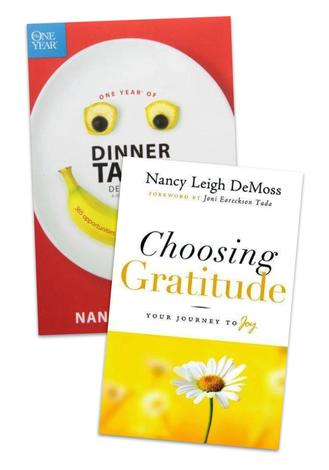 Dinner Devotions and Choosing Gratitude Pack by