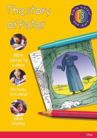 Bible Colour and learn: 13 Peter by