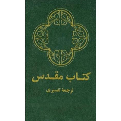 Farsi Green Leather-Like Bible by