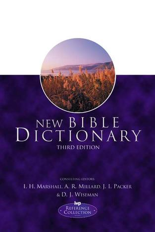 New Bible Dictionary by J I Packer