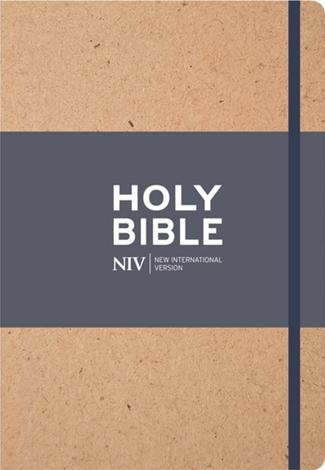 NIV Tan Single-Column Journalling Bible by NIV