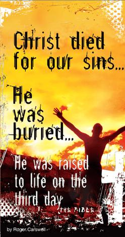 Christ Died For Our Sins (tract) by Roger Carswell