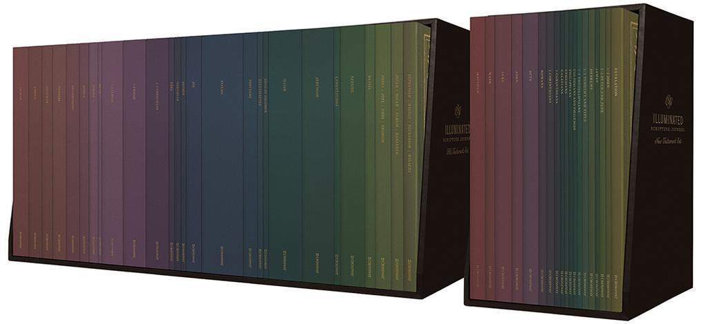 ESV Illuminated Scripture Journal: Old and New Testament Sets by