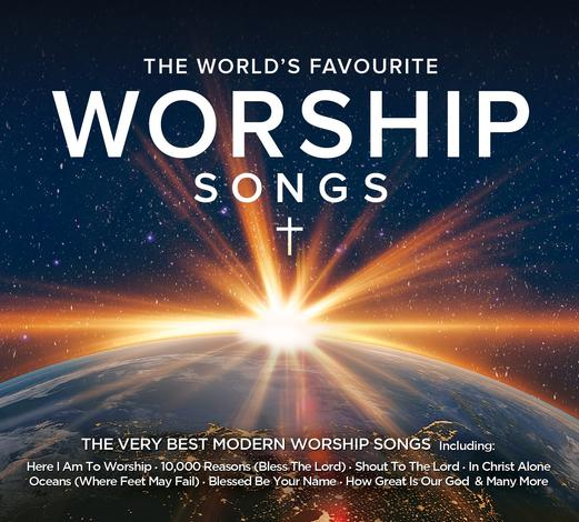 The World's Favourite Worship Songs CD by