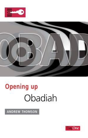 Opening Up Obadiah by Andrew Thomson