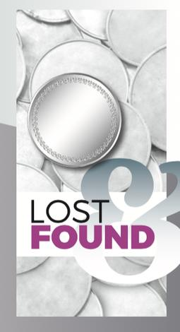 Lost and Found Large Print Tract by Helen Thorne
