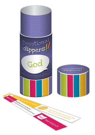 Names and Attributes of God Devotional dippers by Andrew Sweasey