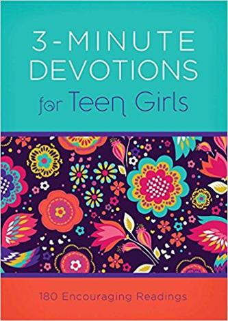 3-Minute Devotions For Teen Girls by
