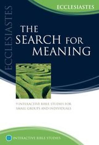 The Search For Meaning by Tim McMahon