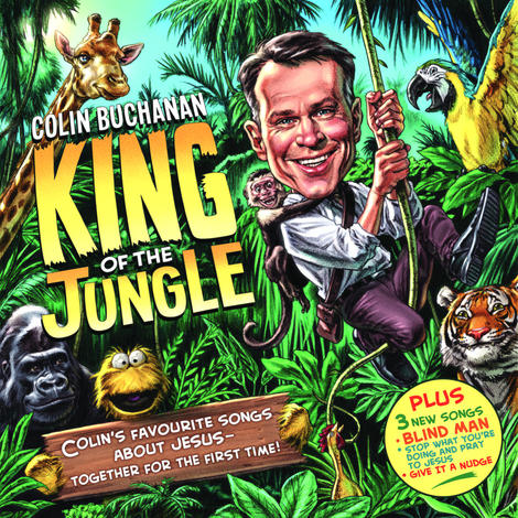 King of the Jungle CD by Colin Buchanan
