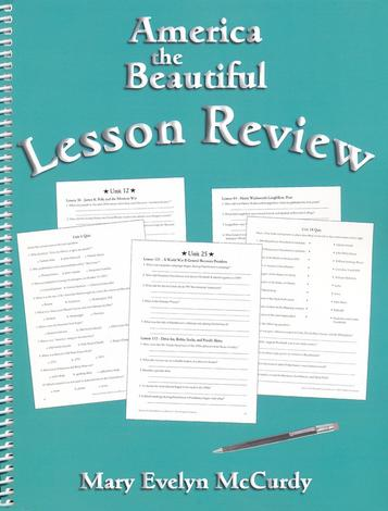 America the Beautiful Lesson Review by