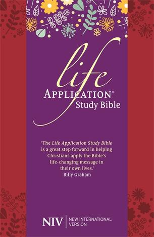 NIV Life Application Study Bible by