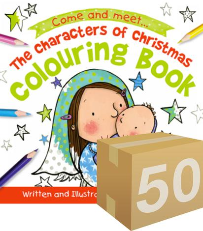 GIVE-AWAY: The Characters of Christmas Colouring Book by