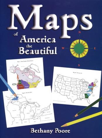 Maps of America the Beautiful by