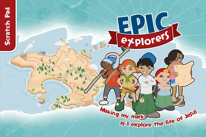 Epic Explorers Scratch Pad by Tamar Pollard