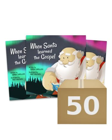 When Santa Learned the Gospel (Give Away) by Simon Camilleri
