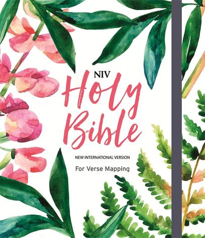 NIV Bible Floral Cover by
