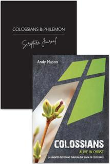 Colossians Devotion & Journal 2 Pack