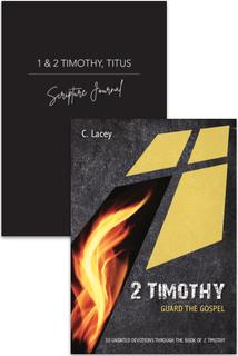 2 Timothy Devotion & Journal 2 Pack
