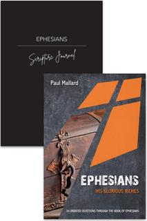 Ephesians Devotion & Journal 2 Pack