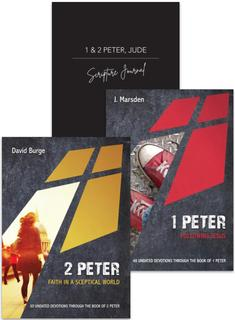 1-2 Peter Devotion & Journal 3 Pack