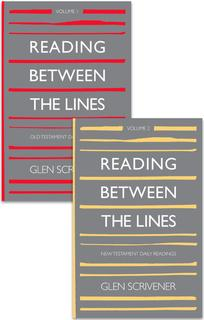 Reading Between The Lines Volume One & Two ~ Glen Scrivener