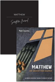 Matthew Devotion & Journal 2 Pack