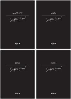 All Four Gospels Pack NIV Scripture Journal