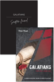 Galatians Devotion & Journal 2 Pack