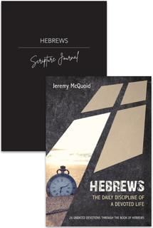 Hebrews Devotion & Journal 2 Pack