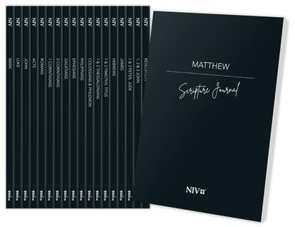 NIV Scripture Journal New Testament Pack