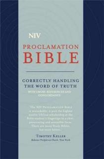 NIV Compact Proclamation Bible Soft–Tone