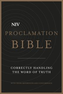 NIV Proclamation Bible [Leather Edition]