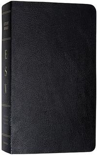 ESV Study Bible (Genuine Leather, Black)